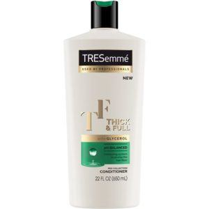 tresemme xx thickfull conditioner front view