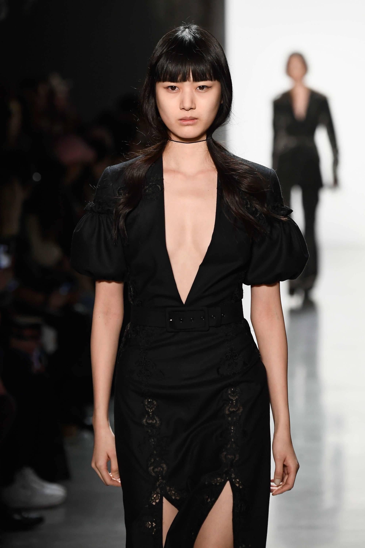chinese hairstyles blunt bangs