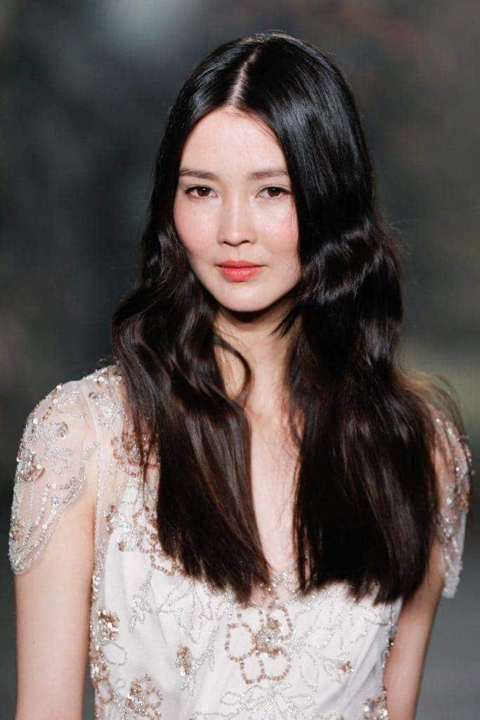 chinese hairstyles crimped