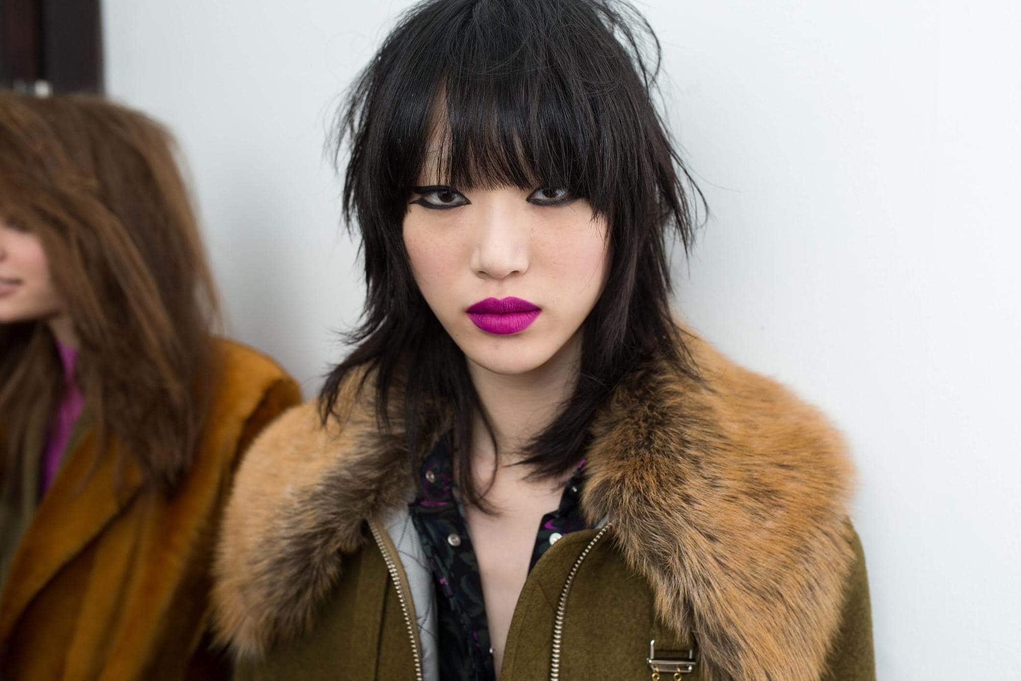 chinese hairstyles shag