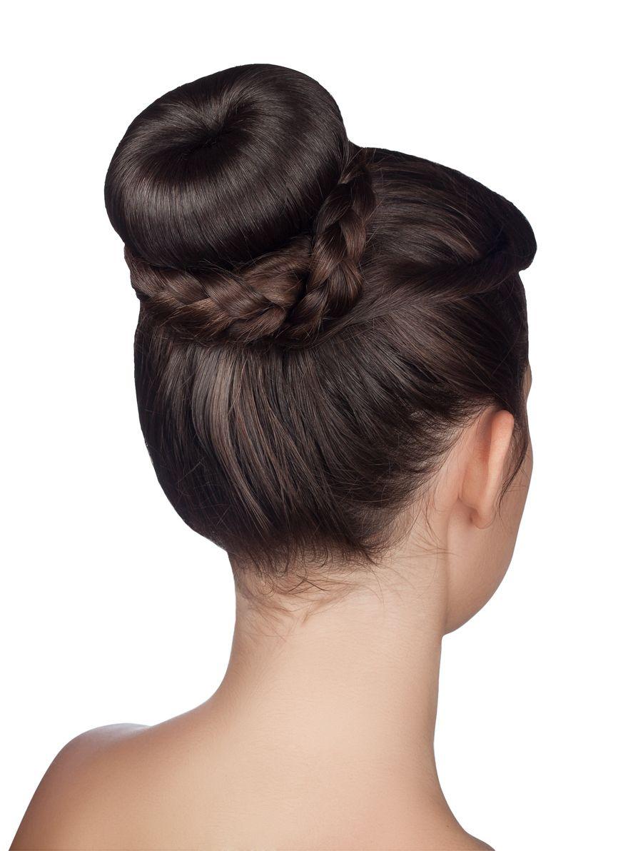 prom hairstyles for medium hair braided bun