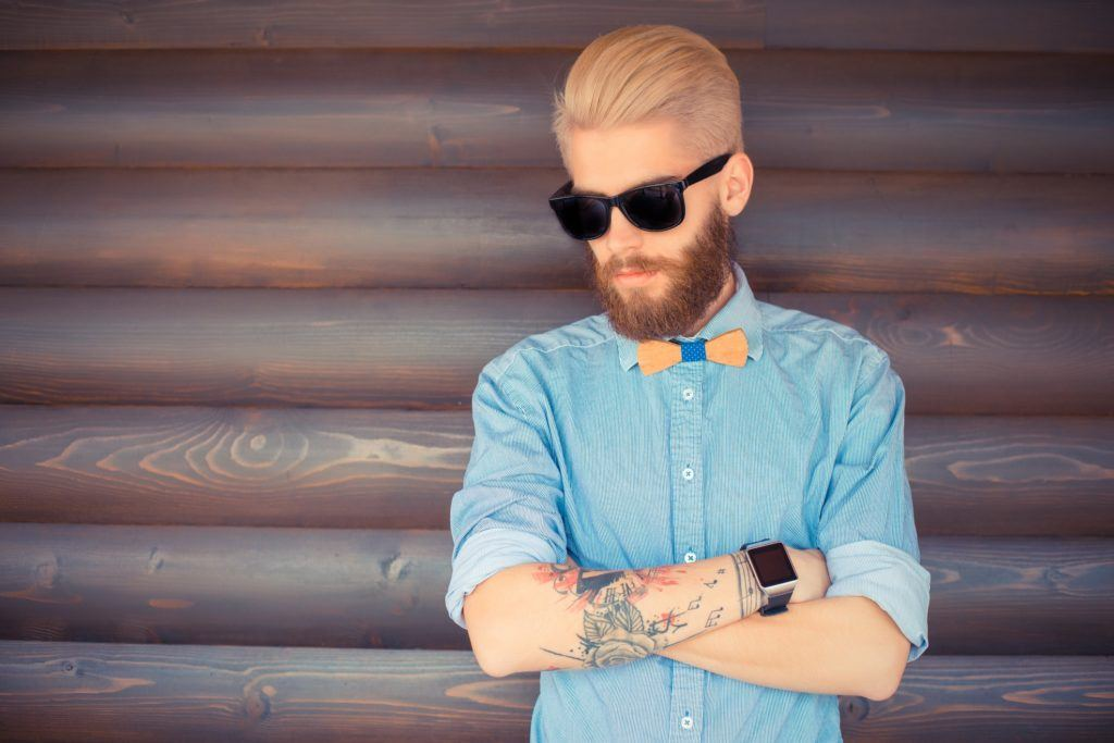 short on sides long on top pomade styled