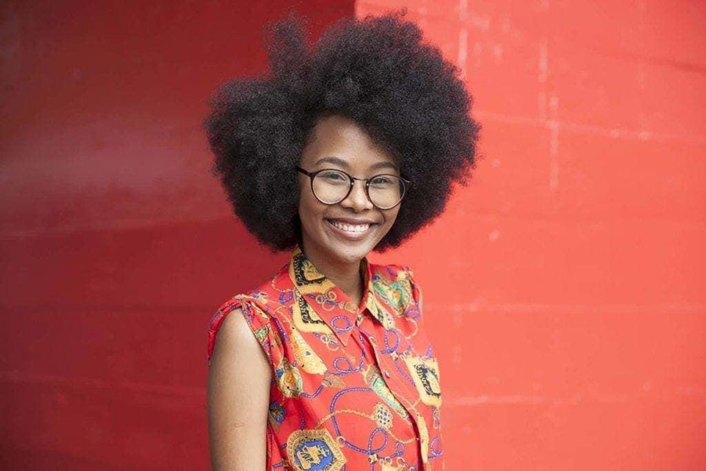 black hair types: kinky hair