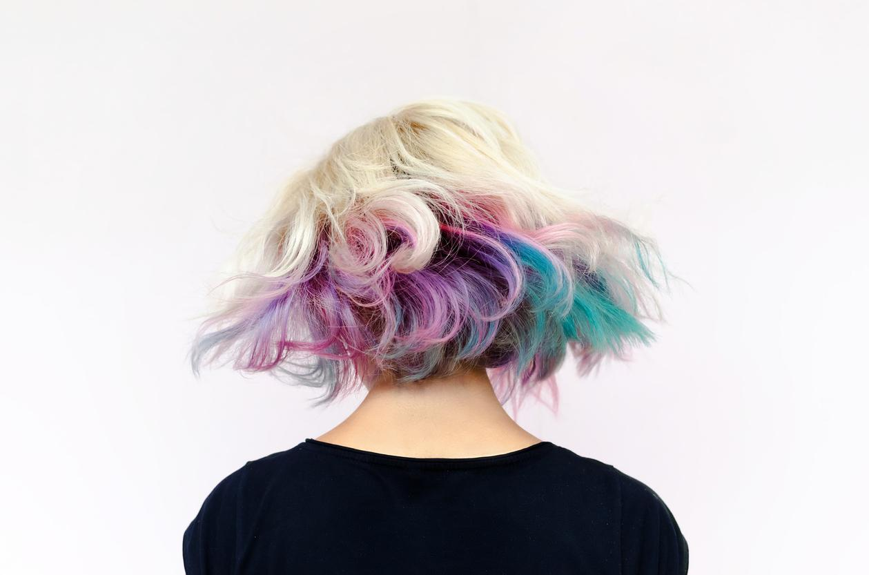 blonde ombre hair unicorn