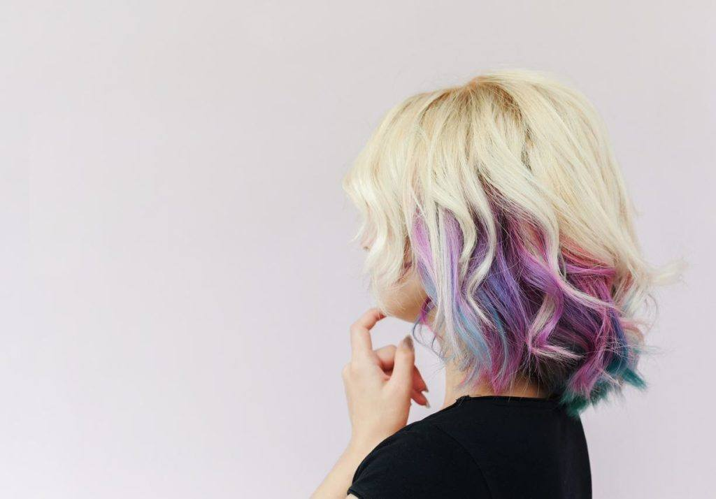 purple ombre hair directed ombre