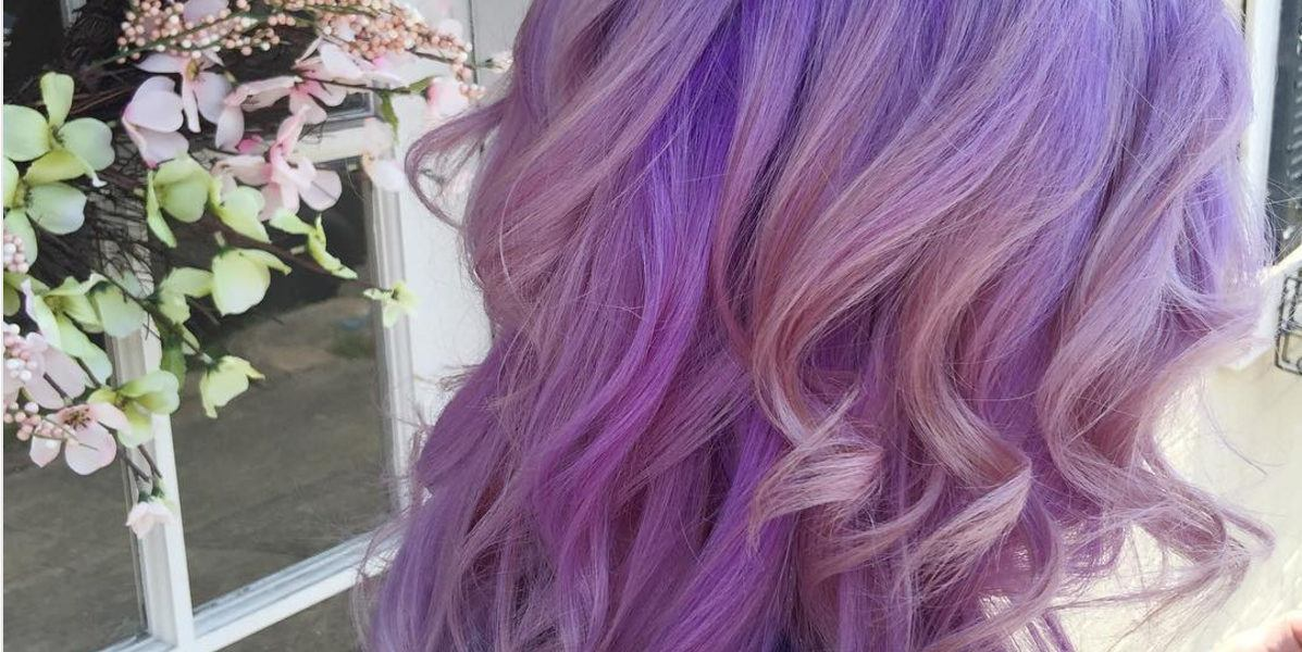 purple ombre hair violet purple lavender ombre