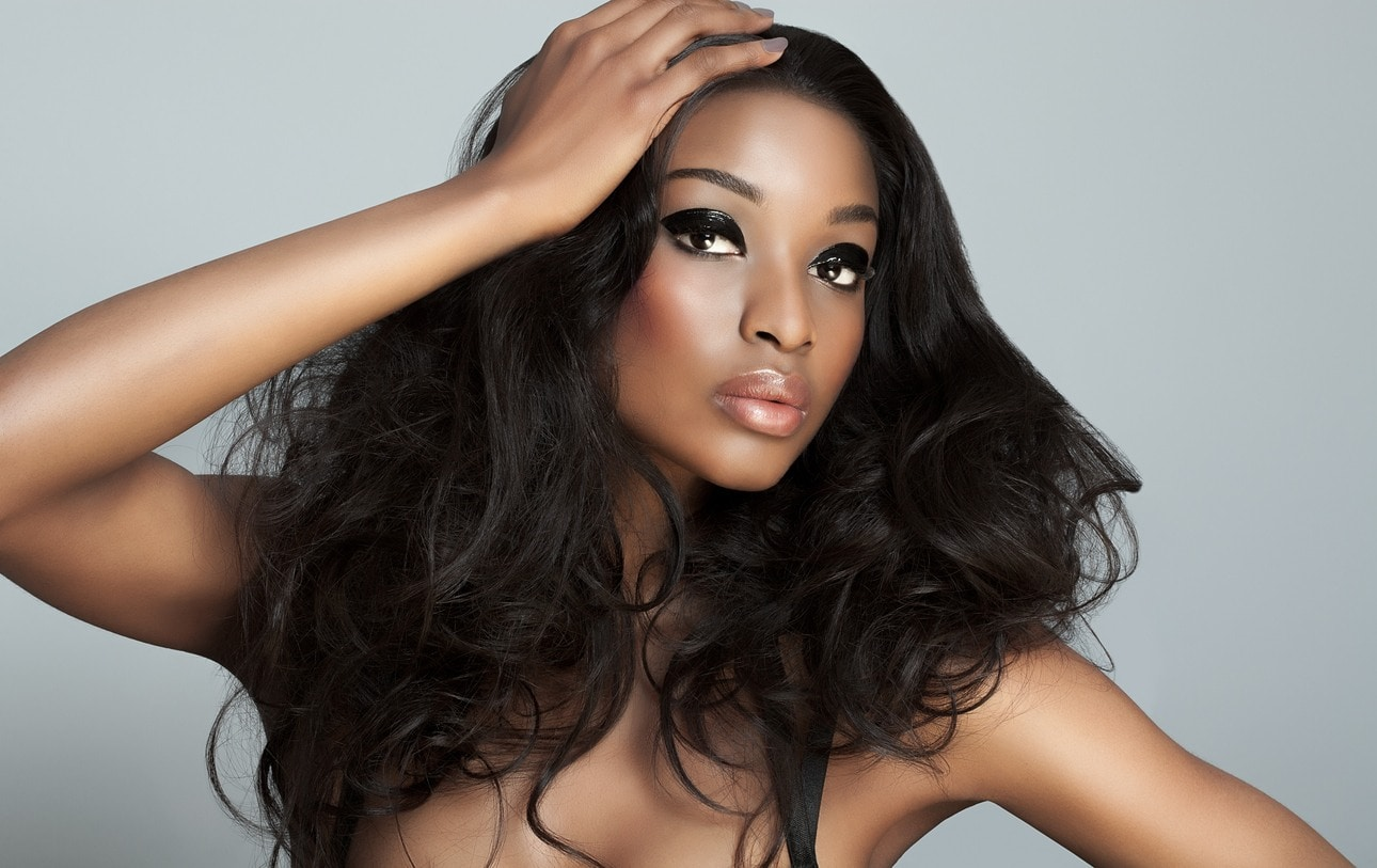 sew-in hairstyles: volume
