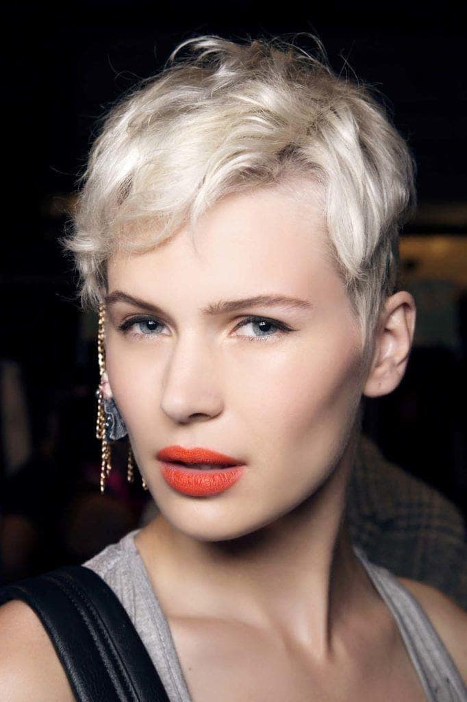 short prom hairstyles: edgy