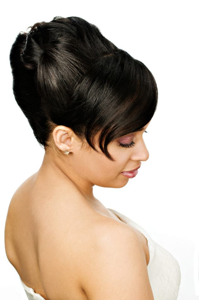 wedding hairstyles for long hair beehive