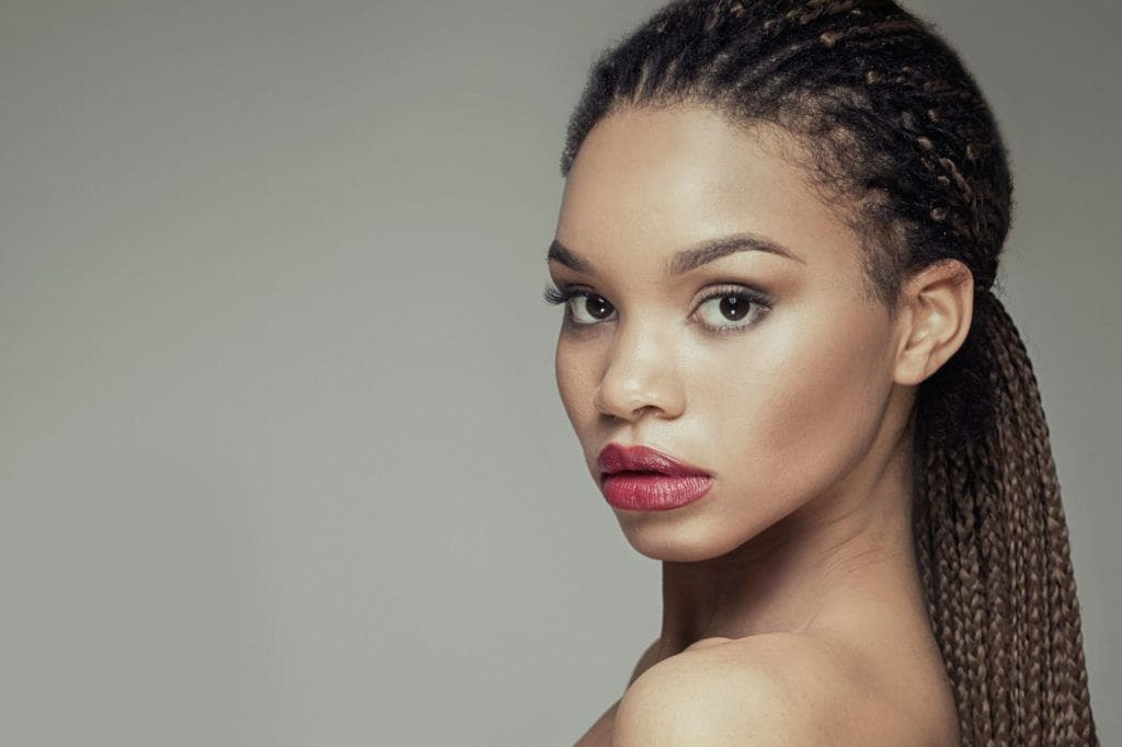 wedding-hairstyles-for-long-hair-box-braids-mid-ponytail