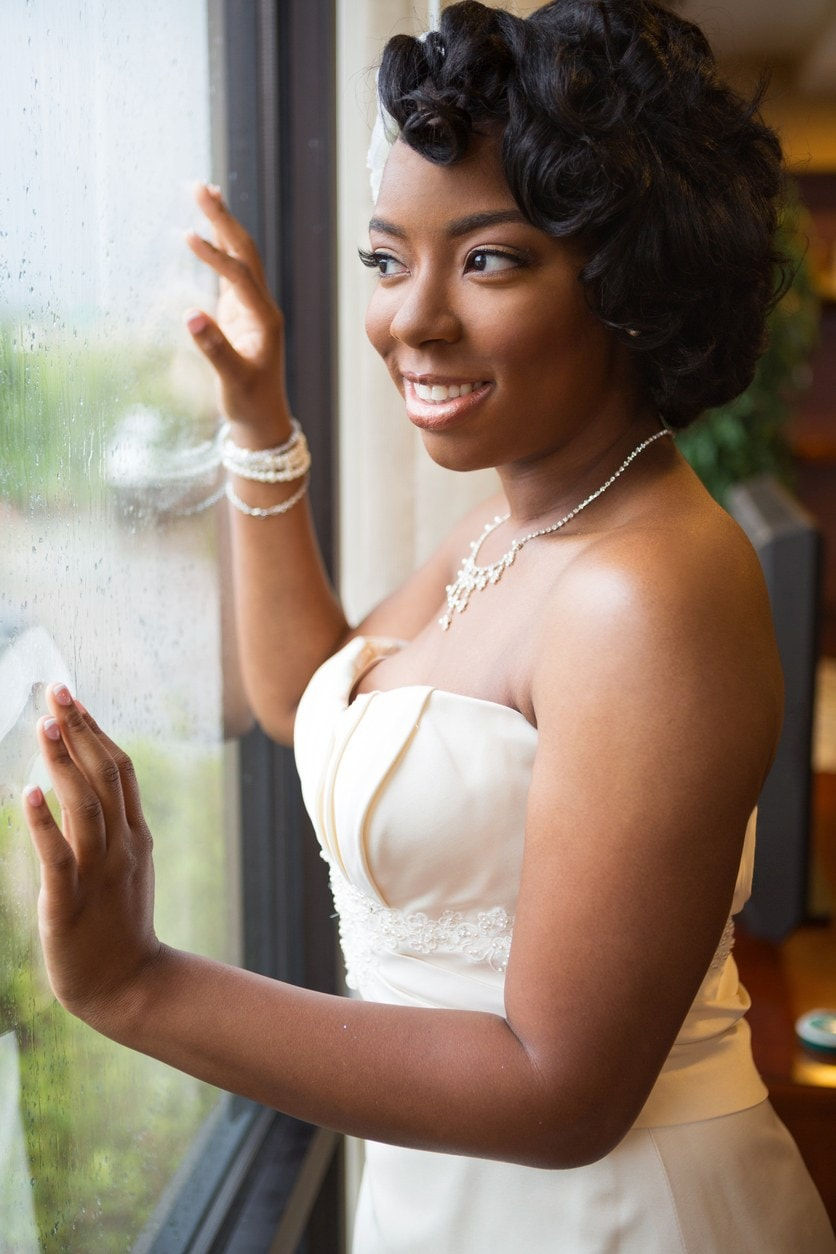 wedding hairstyles for long hair pin curls