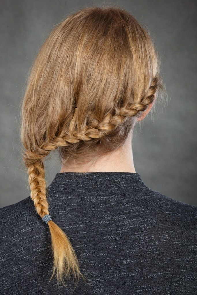 braided hairstyles braided ends