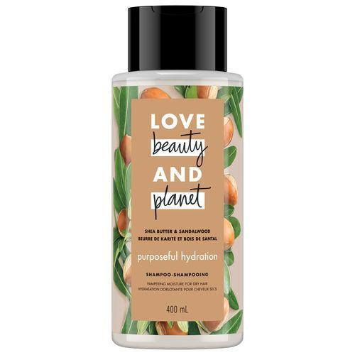 LOVE BEAUTY AND PLANET PURPOSEFUL HYDRATION SHEA BUTTER & SANDALWOOD SHAMPOO