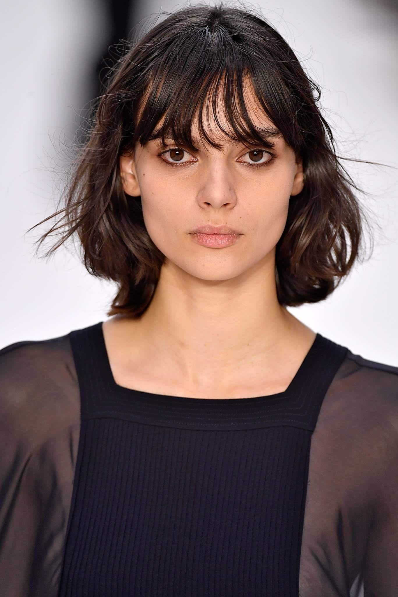 should I get bangs: see through bangs
