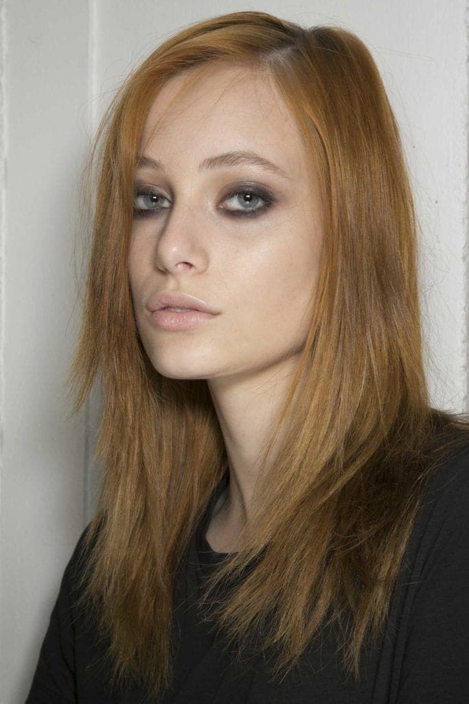 styling fine hair: long layers