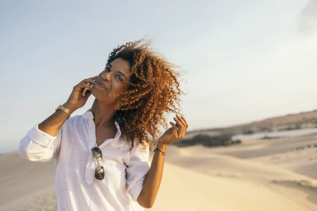curly hair hairstyles: wash and go