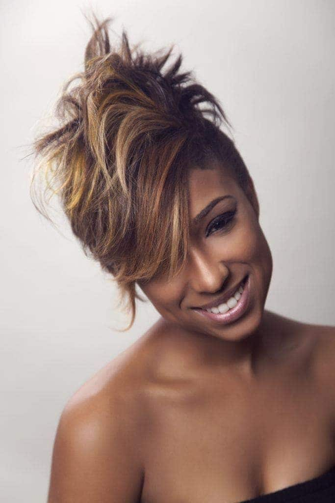 relaxed hairstyles: the mohawk