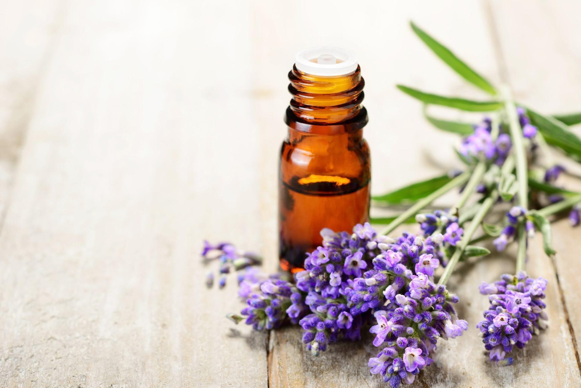 beauty routine lavender essentials