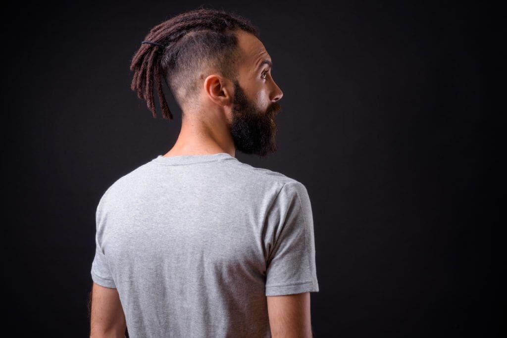 Bold buzzcuts dreads