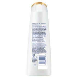 dove anti frizz oil therapy shampoo rear view
