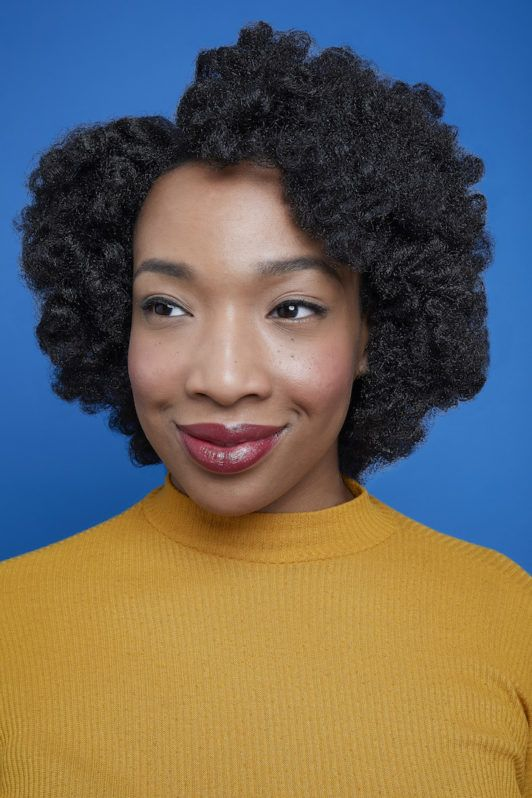 how to use flexi rods on natural hair: final look