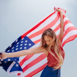 red white and blue hair: featured image