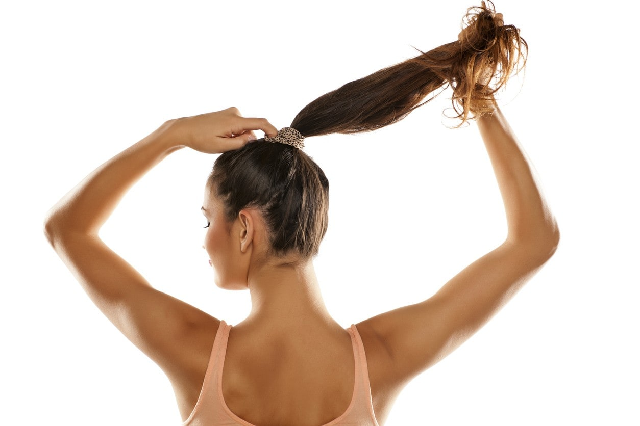 bad hair tie habits taking ponytail out