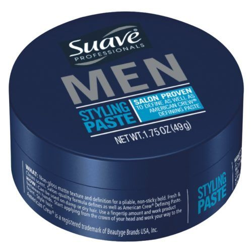suave men's styling paste