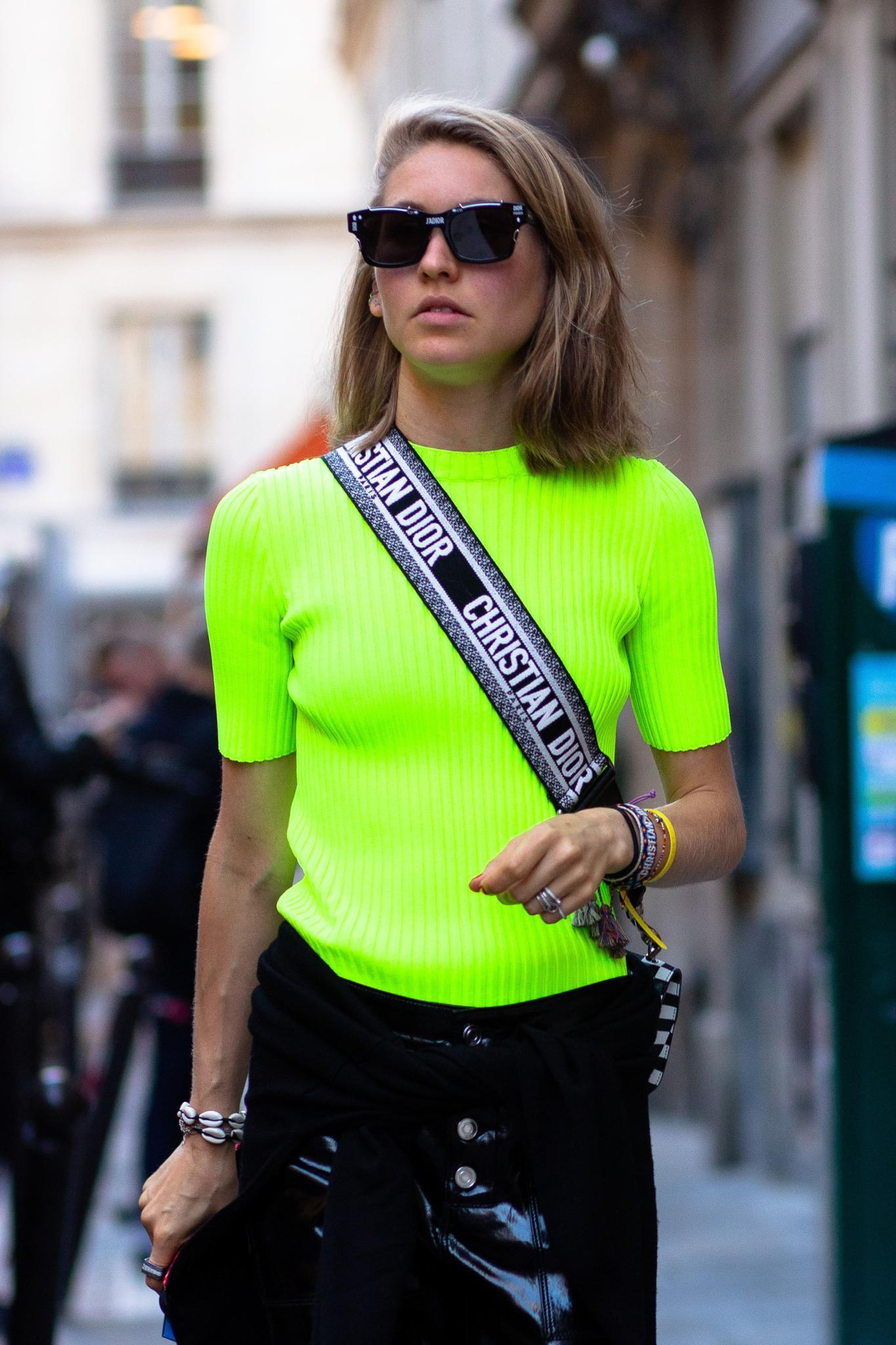 lime green trend and hairstyles: bob