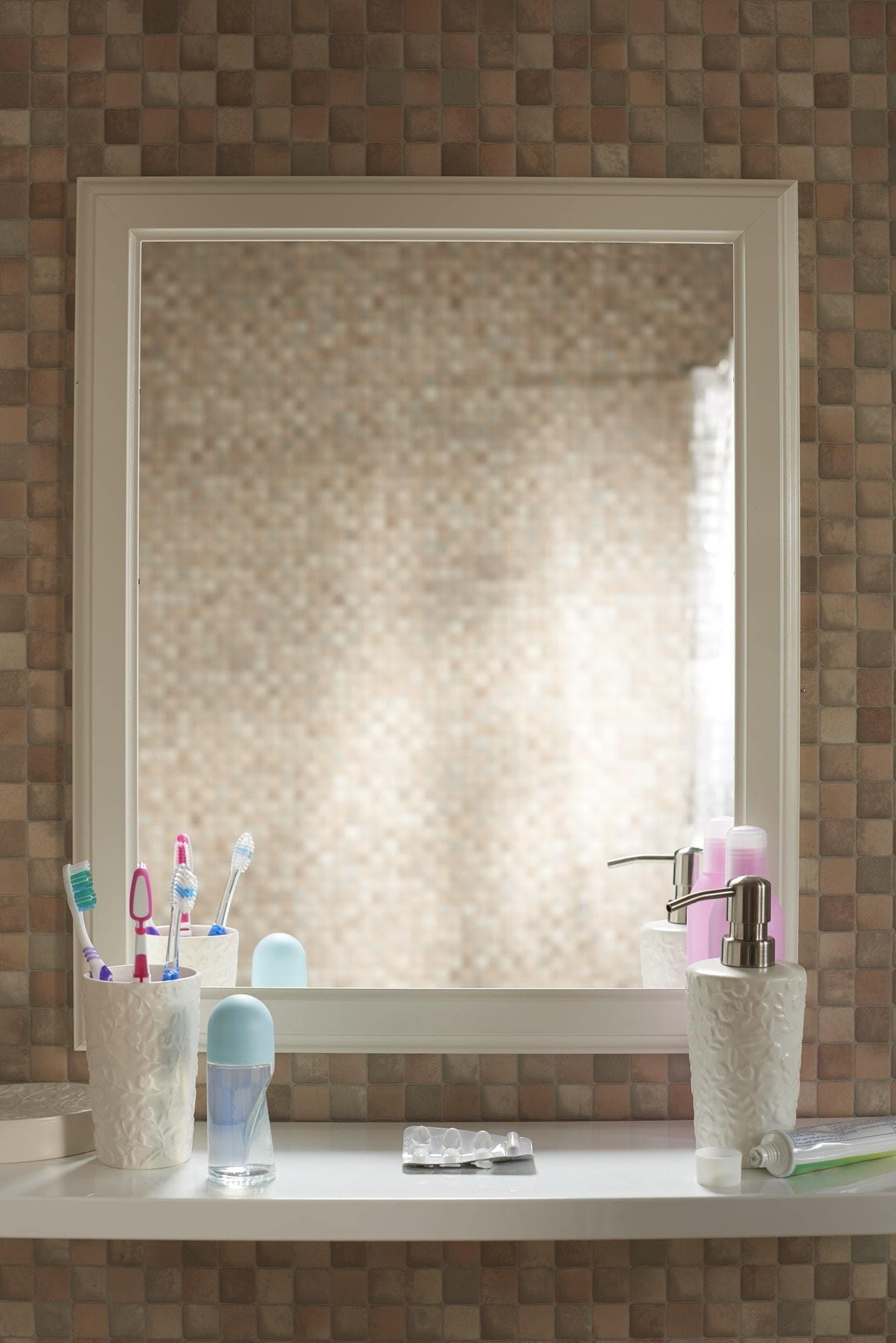 signature hairstyle bathroom setup