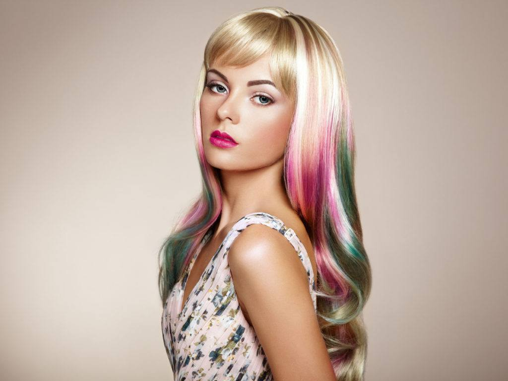 funny hairstyles colorful hair