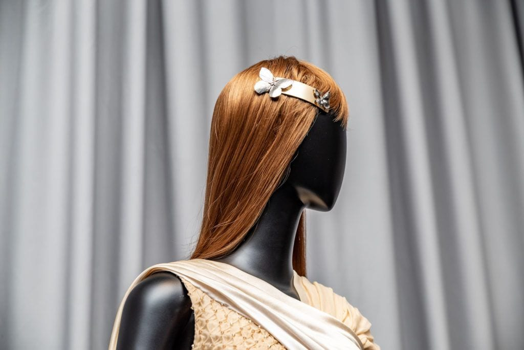 rodarte and tresemme: floral accessories