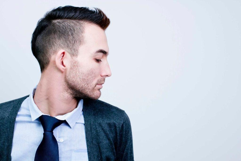 haircuts for balding men: mohawk