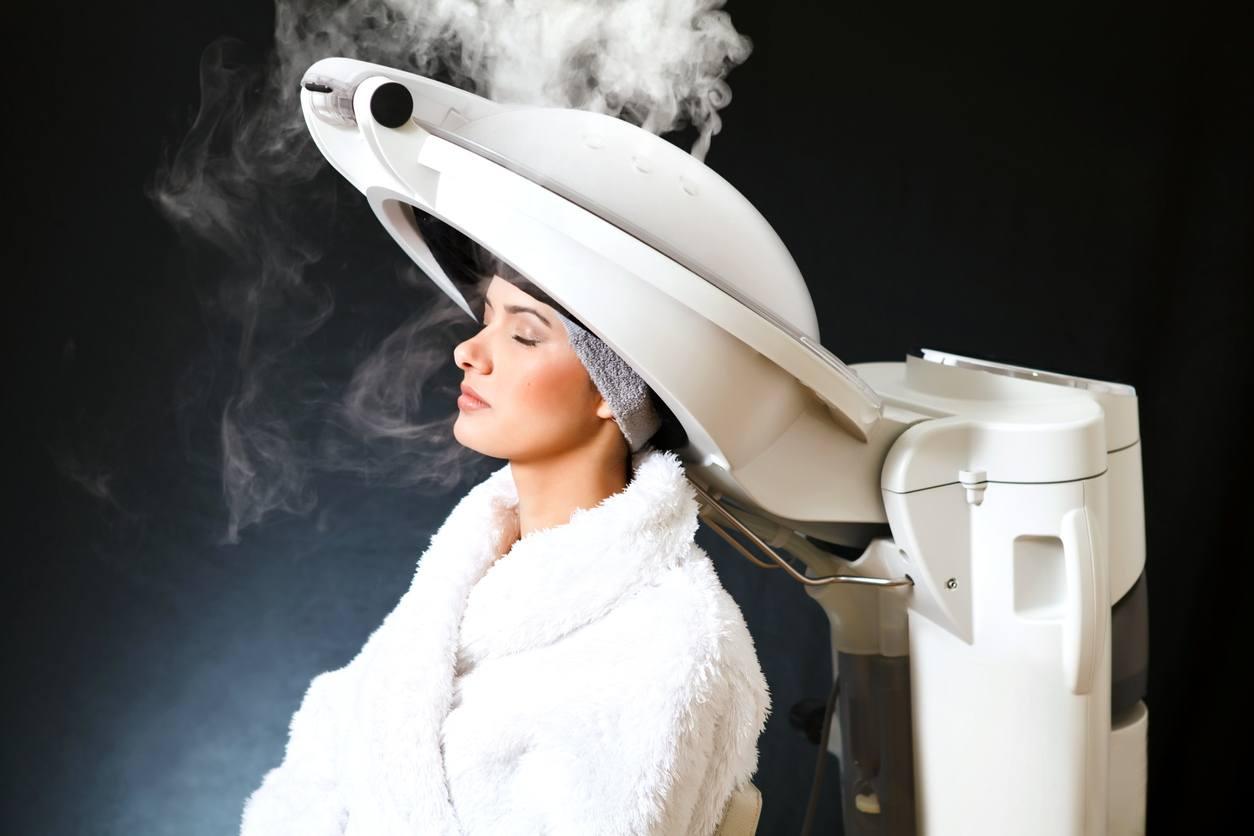 healthy winter hair steam