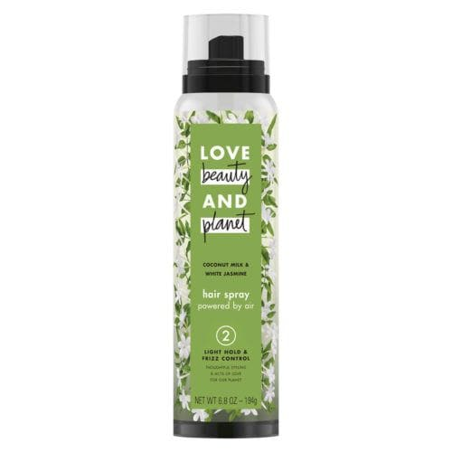 Love Beauty and Planet Light Hold & Frizz Control Coconut Milk & White Jasmine Hair Spray