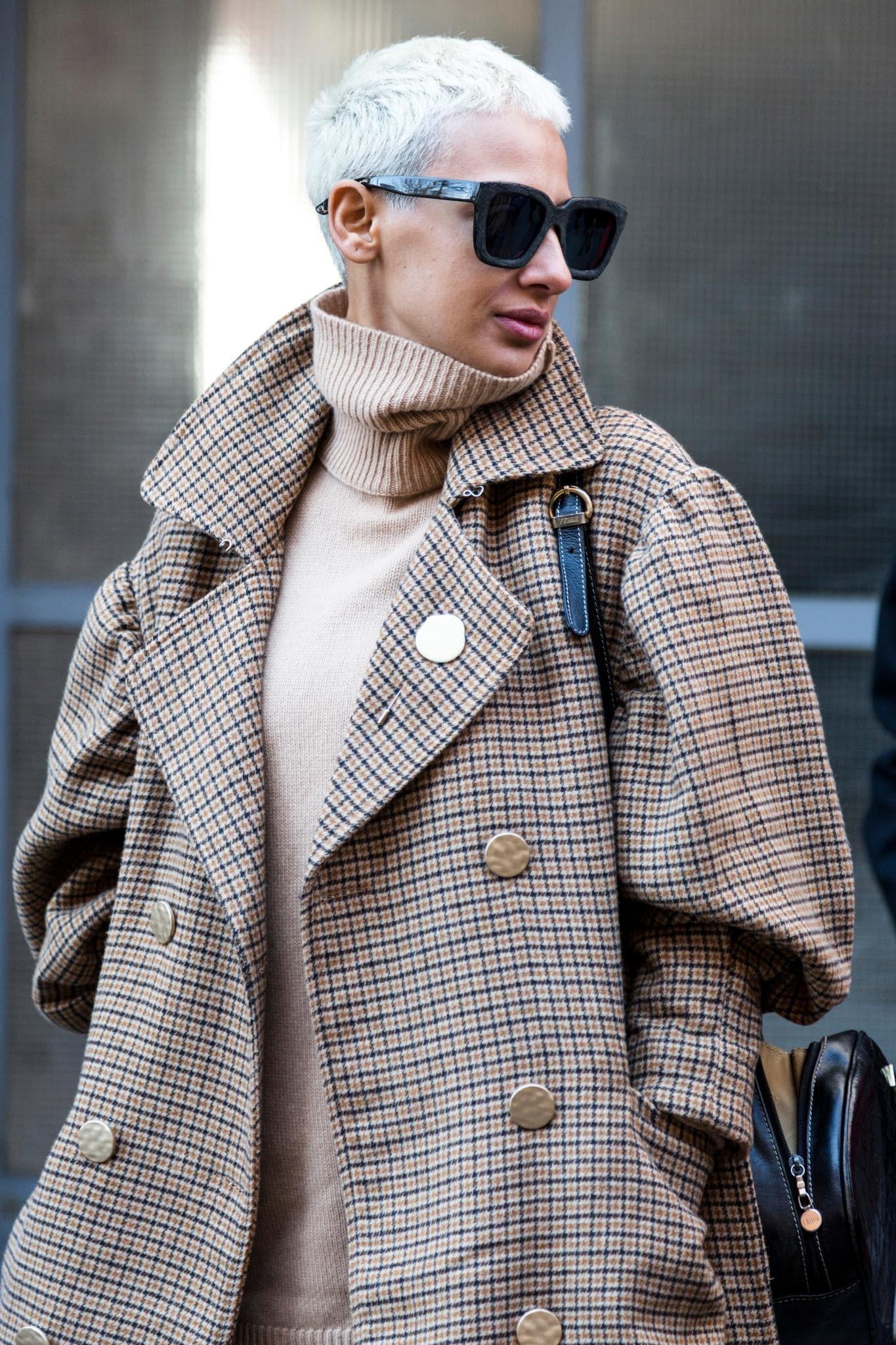 bold pixie cuts: ice blonde