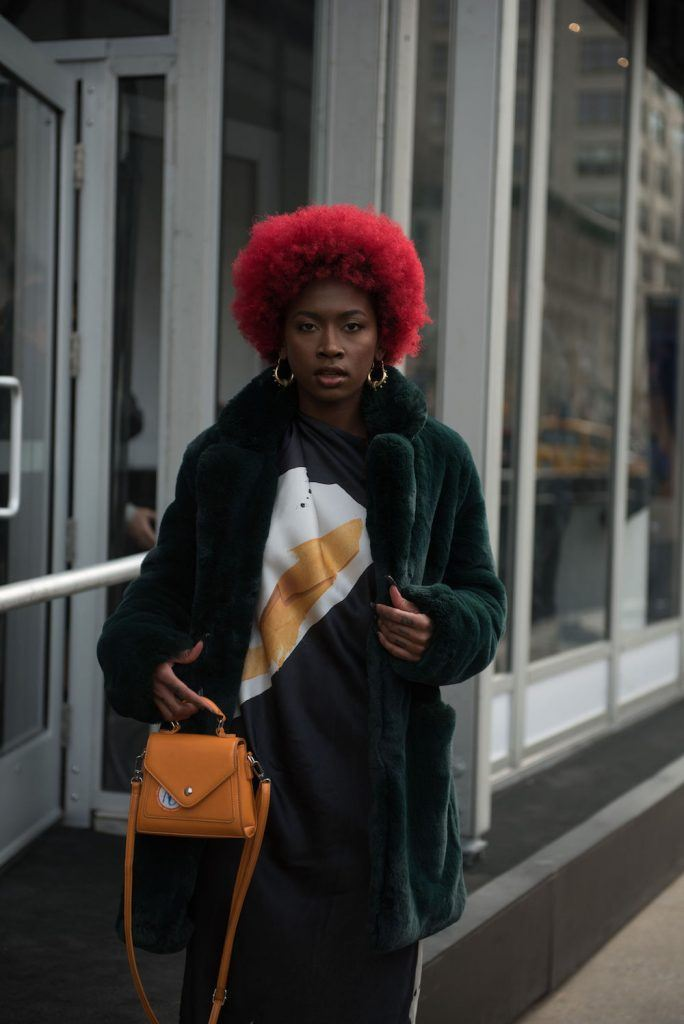 hair color for black women red