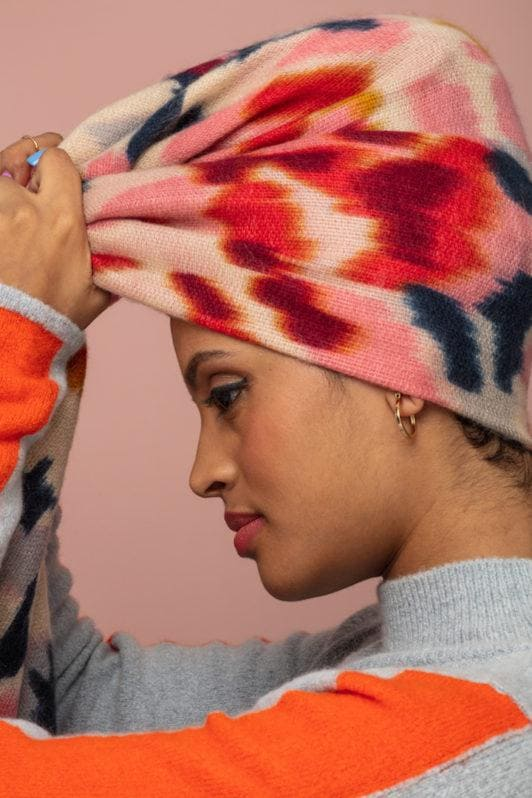 head scarves: turban tutorial