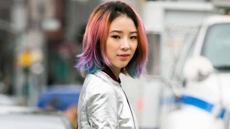 colored hair gel