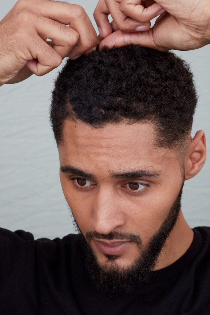 sponge curls: define sections