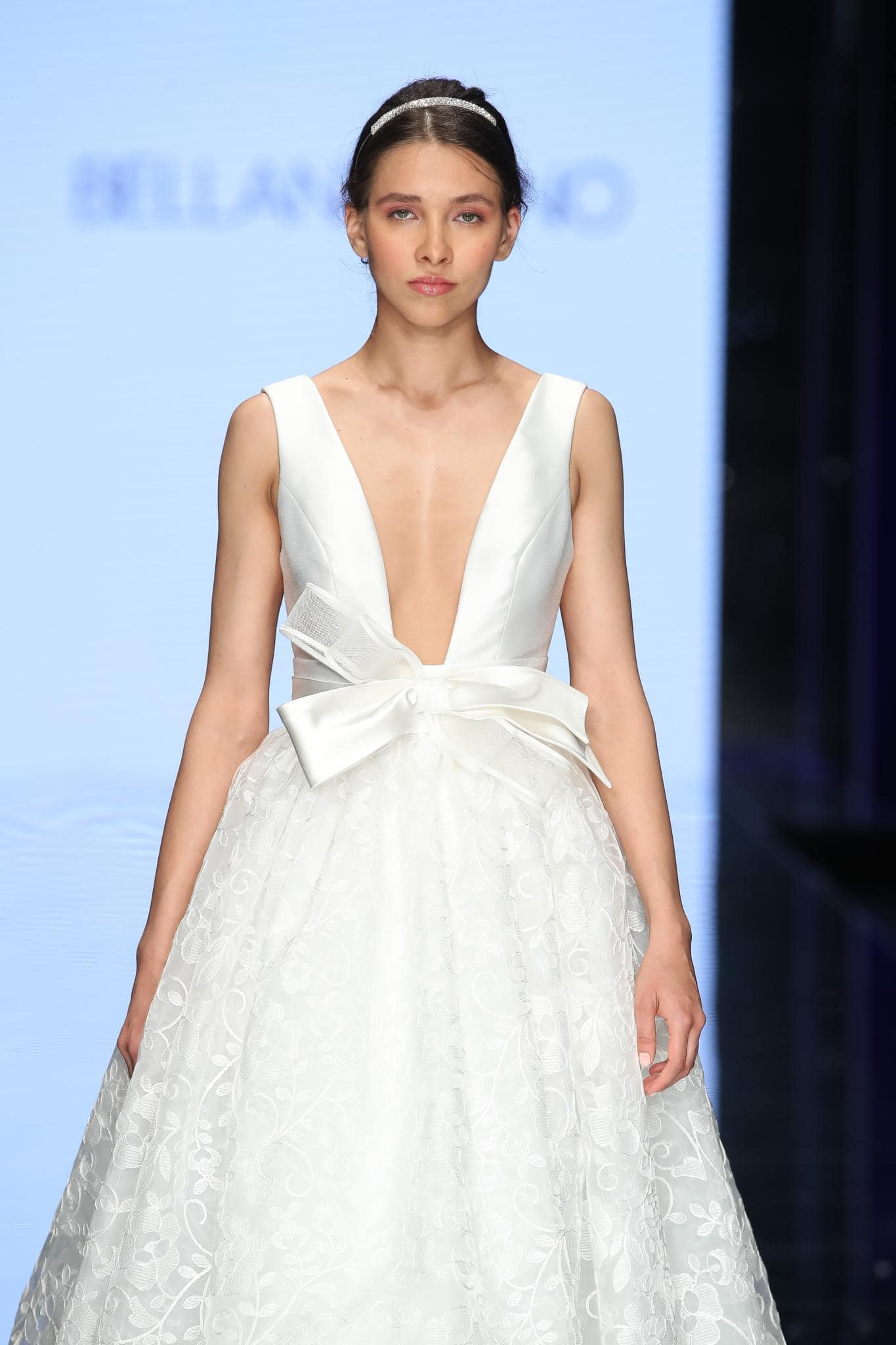 summer bridal hair modern bride low updo