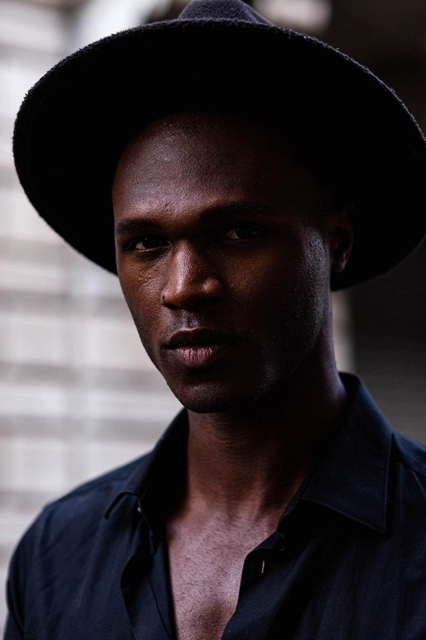 summer hats for men black hat