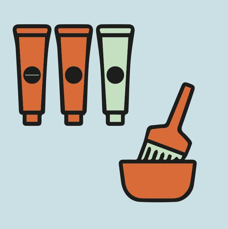avoid brittle hair color or bleach
