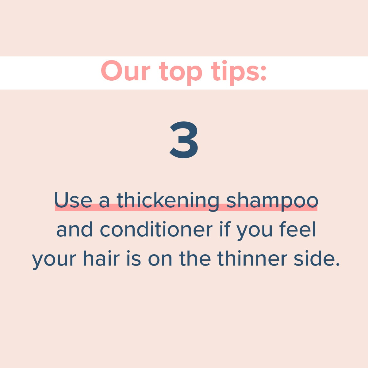 can stress make your hair fall out step 3