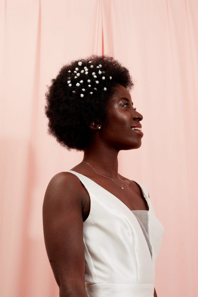How To Use A Roller Set On Natural Hair Looks We Love