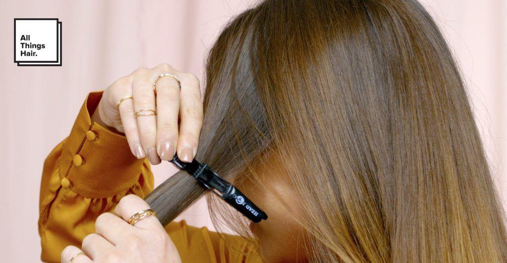 hippie braids section hair