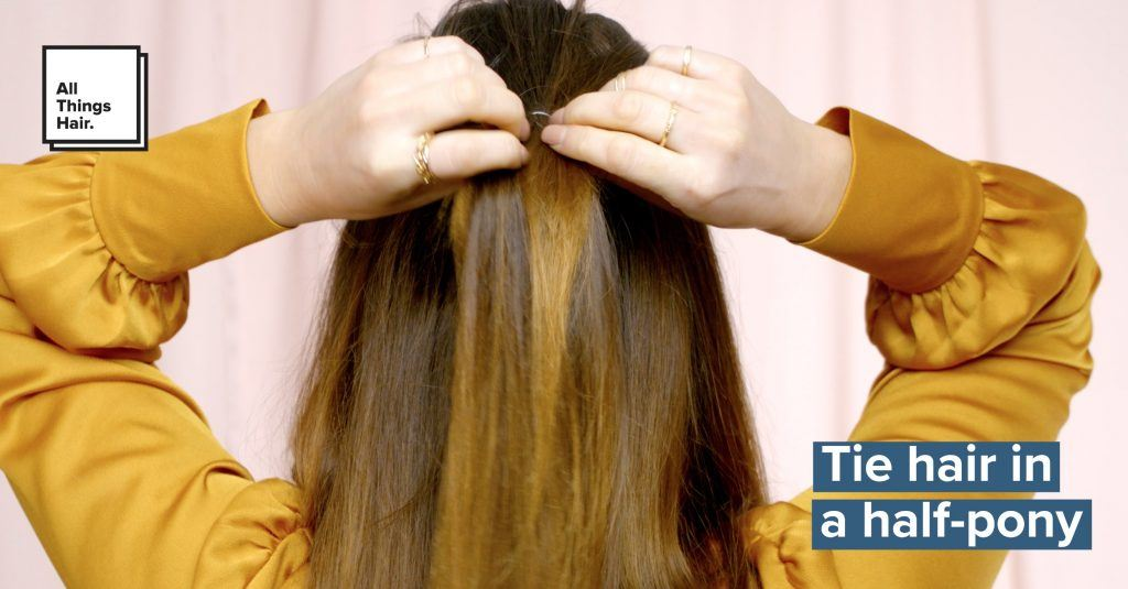 hippie braids secure ponytail