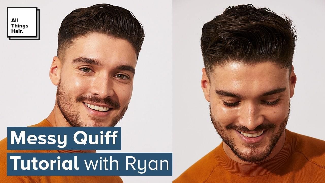 Messy Quiff Tutorial Easy Style For Men All Things Hair Us