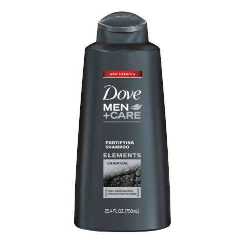 Dove Men + Care Elements Charcoal Fortifying Shampoo