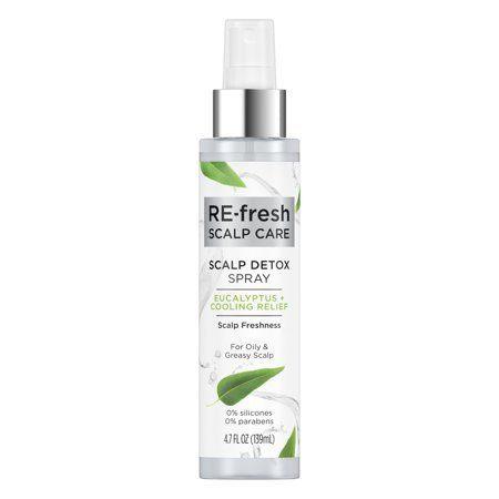RE-fresh Eucalyptus + Cooling Relief Scalp Detox Spray